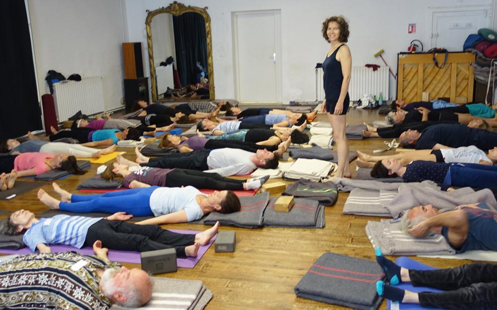 """""""Le yoga est une pratique d'éveil""""."""